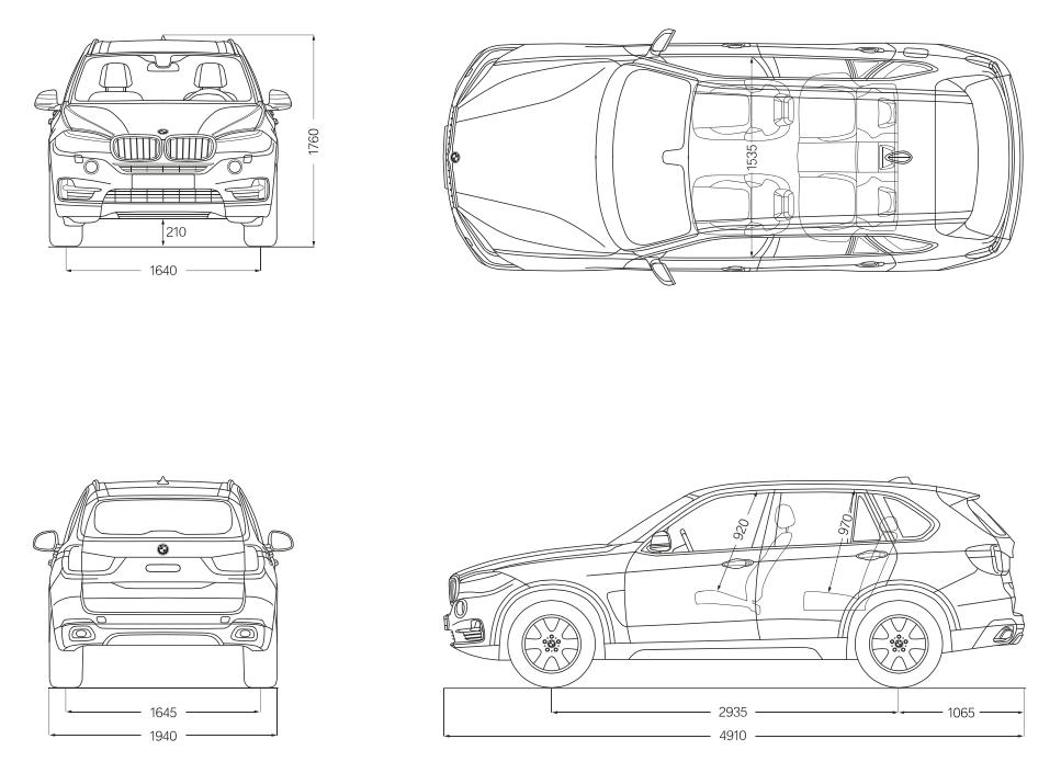 Bmw X5:車幅とサイズを把握。駐車場大丈夫? Bmwユーザーブログ